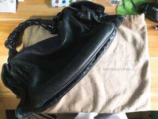 Bottega Veneta black bag