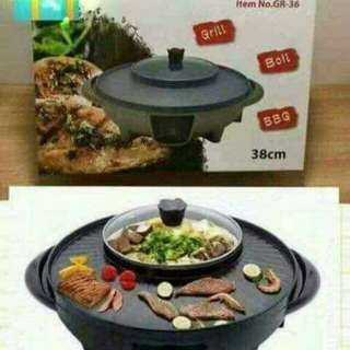 Korean Electric hot pot and Grill