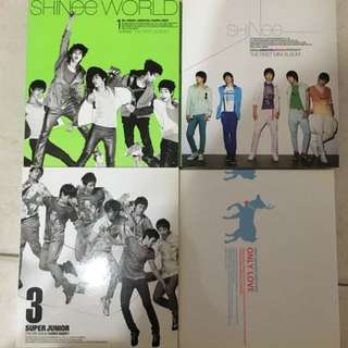 SM Artist Albums