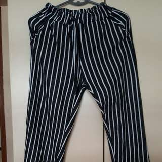 Stripes Pant/ Long Cotton Pant