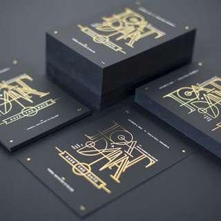 Matt Laminate Namecard / Business card Printing Service