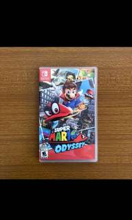 Looking to buy used Nintendo Switch Odyssey & Zelda