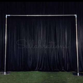 [Sellabrations] 3m x 3m Heavy Duty Backdrop Stand Wedding Arch