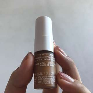 Mini fenty beauty matte foundation