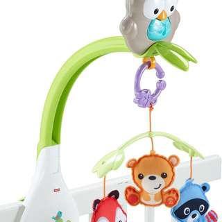Fisher Price 3-in-1 Mobile, Woodland