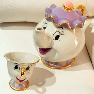 Disney Beauty and The Beast Teapot