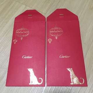 Cartier Red Packets Ang pao