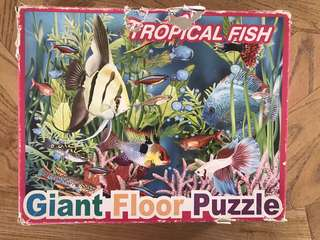 Giant tropical puzzle