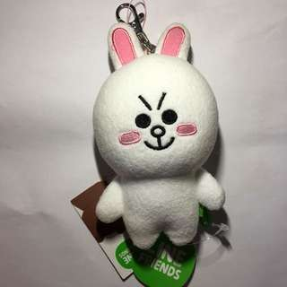 Line cony 兔 鎖匙扣