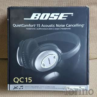 Bose Quiet Comfort 15 Noise Cancelling Headphone