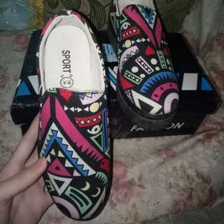 Sepatu china import size 38 new