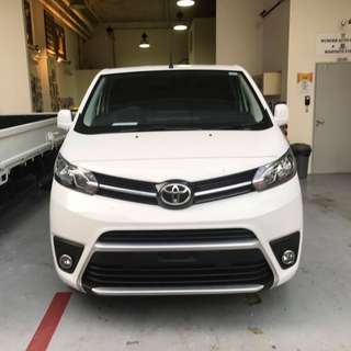 Brand New Van for Rent - Toyota ProAce Comfort Grade 2.0M