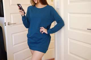 H&M Teal Jumper