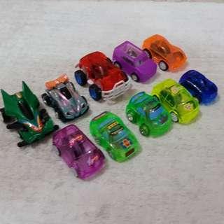 Pullback minicars