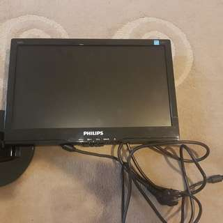 "monitor led philips 15.6"" (39.6cm)"