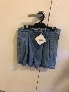 Size small denim shorts
