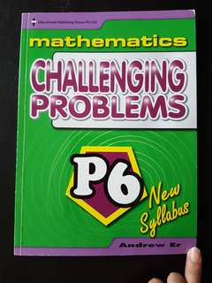P6 maths assessment book