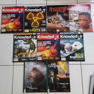 Asian Geographic, Knowledge & Inspire Magazines