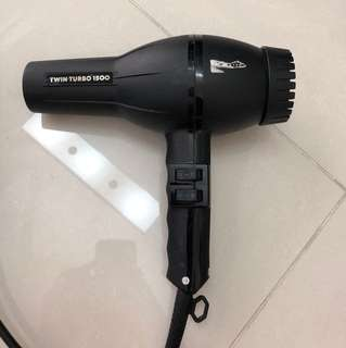 Italian Hair Dryer Salon Grade Twin Turbo 1509