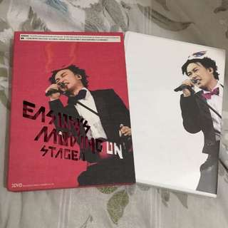 Eason moving on stage 1 演唱會 3 DVD