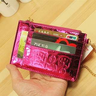 PO Hello Kitty Chrome Card Pouch