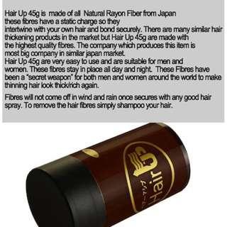 Made in Korea- Hair building fibers