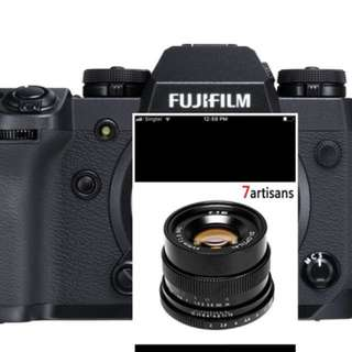 Bundle Fujifilm X-H1 with 7artisans 35mm F2 lens