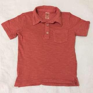 Carter's polo shirt 2t