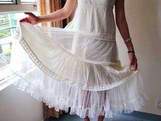 旅行外拍婚紗裙波希米亞風
