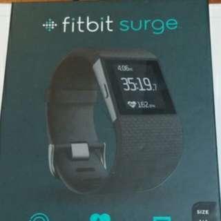 Fitbit Surge S size