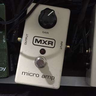 MXR MICRO AMP BOOSTER ( Fast deal $80)