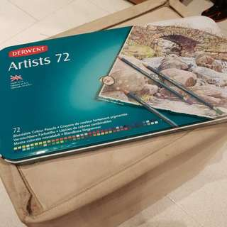 Quick sale - Brand new Derwent Artists 72