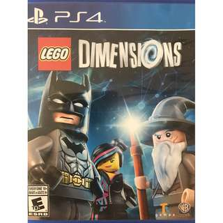 PS4 LEGO DIMENSIONS (like new)