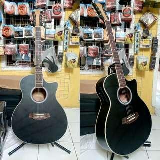Gitar akustik elektrik siprus