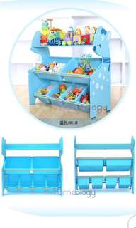 Toys book storage