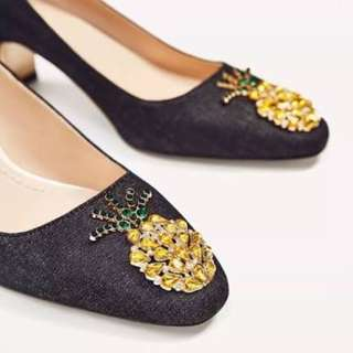 Zara Pineaple shoes