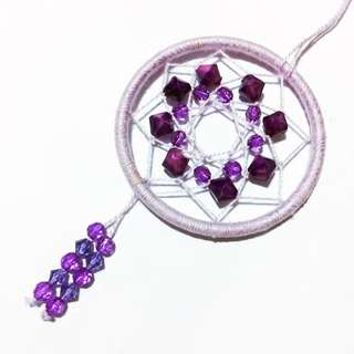 Purple Clouds Dreamcatcher