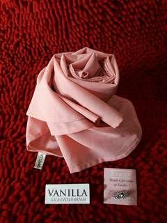 [Preloved] Pashmina Sala Instan Vanilla Hijab