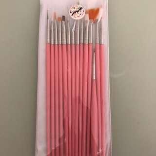 14 Pcs Nail Art Brush