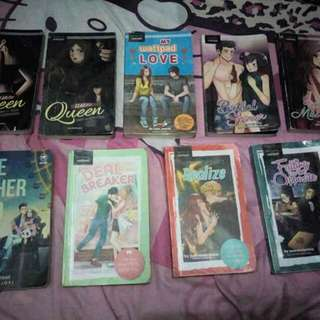 Pop fiction (120 each)