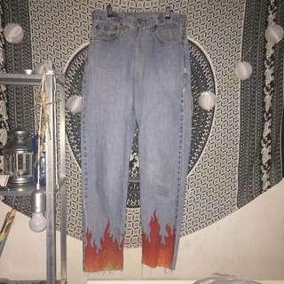 Flame Jeans (LEVI vintage)
