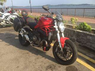 Ducati Monster 1200 - registered 2014