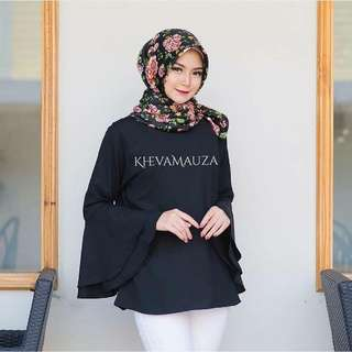 TRISSI BLOUSE BLACK