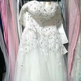 White Gown Rental