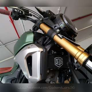 HONDA CB150R Custom Radiator Guard by Godsendworx