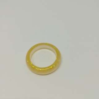 Shinny gold ring size 22mm