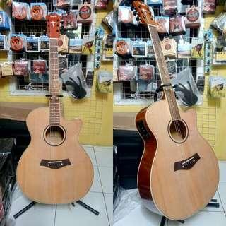 Gitar Siprus akustik elektrik