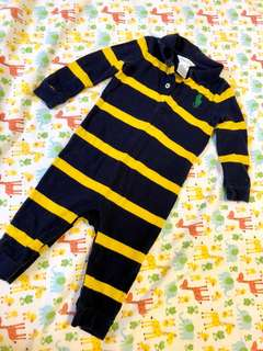Ralph Lauren long sleeves romper (6M)