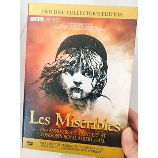 Les Miserables 10th Anniversary Concert - Two disc collector's edition