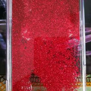 iphone8红闪粉壳